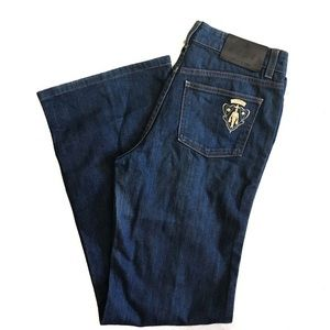 Gucci high rise flared jeans, size 44 (28 waist)
